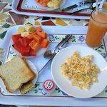 Breakfast at San Juan de Leon