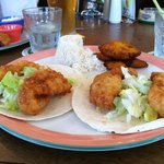 fabulous fish tacos made with beer battered fresh grouper