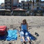 Der wunderschöne Strand von Naxos
