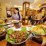 Buffet Lunch at Pinoy Star Cafe, Kabayan Hotel Monumento