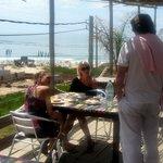 La terraza de Aquarella, el lugar elegido por los turistas europeos.
