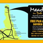 Meads Directions Map