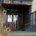 Donegal entrance steps - Jan 2013