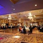 Wedding set up at Montclair ballroom