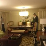Our suite was so large there was a dining /meeting area in the room