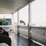 Balcony overlooking Kalk Baii