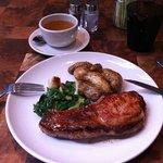 Lunch-Pork chop YUMMY
