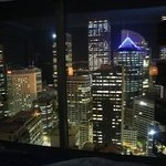 Night time view from room 3409