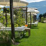 Weinlabyrinth Garten Kuschelzone zu Zweit