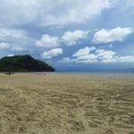 Vue su la plage