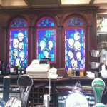 Saints and Scholars Bar - the window is a great talking point