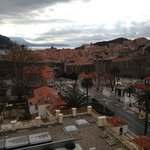 View of the Old Town from 4th floor balcony.