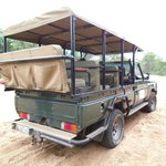 Safari off roada in private reserve