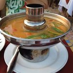 seafood tomyam hotpot (THB450)