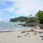 Der Strand in Manuel Antonio (ca 30Minuten Autofahrt)
