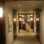 hallway in the 4th floor
