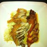 Pork belly and char-siew pork...yummy