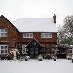 Vulcan Lodge - snowing today