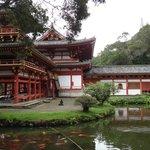 l'arrière du temple