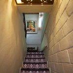 Stair at 2 Bedroom Suite