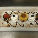 This is new dessert gourmet cheesecake sampler