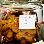 Gingerbread people - yummy