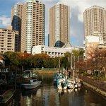 Dans les rues de Tsukishima
