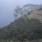 Corniglia from Volastra