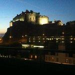 Amazing view of Edinburgh Castle