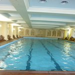 Indoor pool at Hotel Dino (shared with Simplon clients)