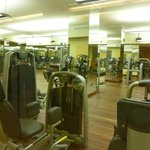 Gym at Hotel Dino (shared with Simplon clients)