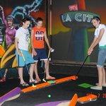 Rock-n-Roll Black Light Mini Golf