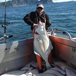 Fishing for halibut is awe-inspiring
