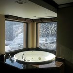 tub in mountain pine suite