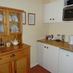 Rose Room kitchenette for light self catering