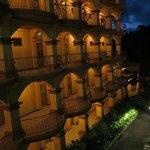San Bada at night