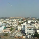 Jaipur city landscape view from my room