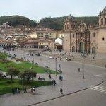 Plaza de armas, vista desde la catedral