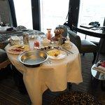 Una excelente atención y buen desayuno en la hbitación