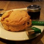 scones and butter