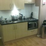 Kitchen was clean and well equipped