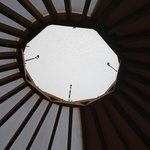 skylight to yurt