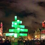 The Grand Place -Christmas Light Show