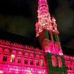 The Grand Place- fantastic Christmas Light Show