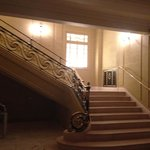 Grand staircase: a tad minimilist for me!