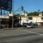Franklin Ave/Cahuenga Blvd 交差点
