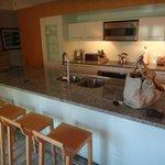 Bar / Küche im Zimmer