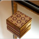 Trinket box in room