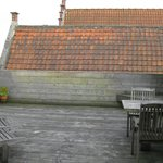 Private roof-top deck