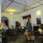 festive lobby